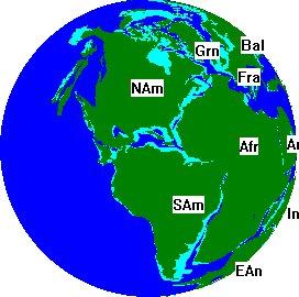 200 Milyon Yıl Önce Dünya