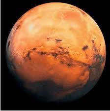 Kızıl Gezegen Mars...
