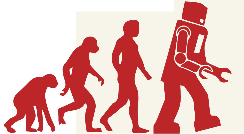Robotik Evrim derken, bundan bahsetmiyoruz elbette...