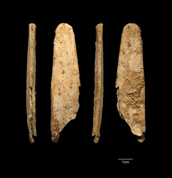Neandertallerin kemikten aletleri