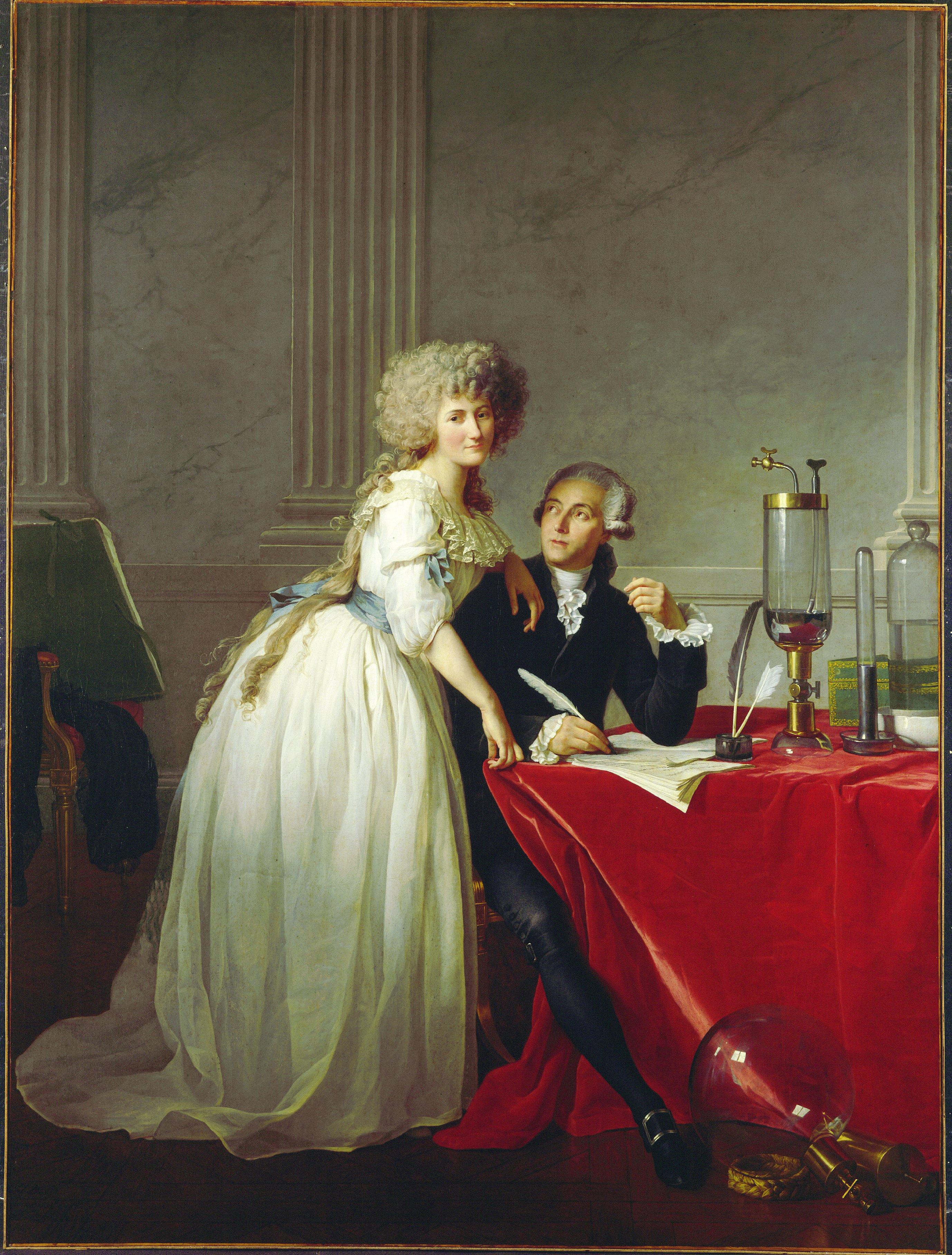 Lavoisier (26 Ağustos 1743 - 8 Mayıs 1794)