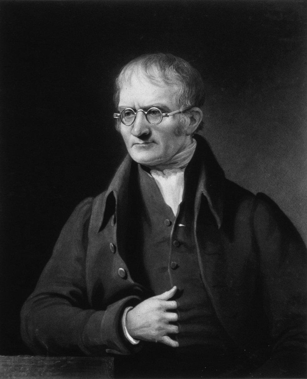 John Dalton (6 Eylül 1766 - 27 Temmuz 1844)