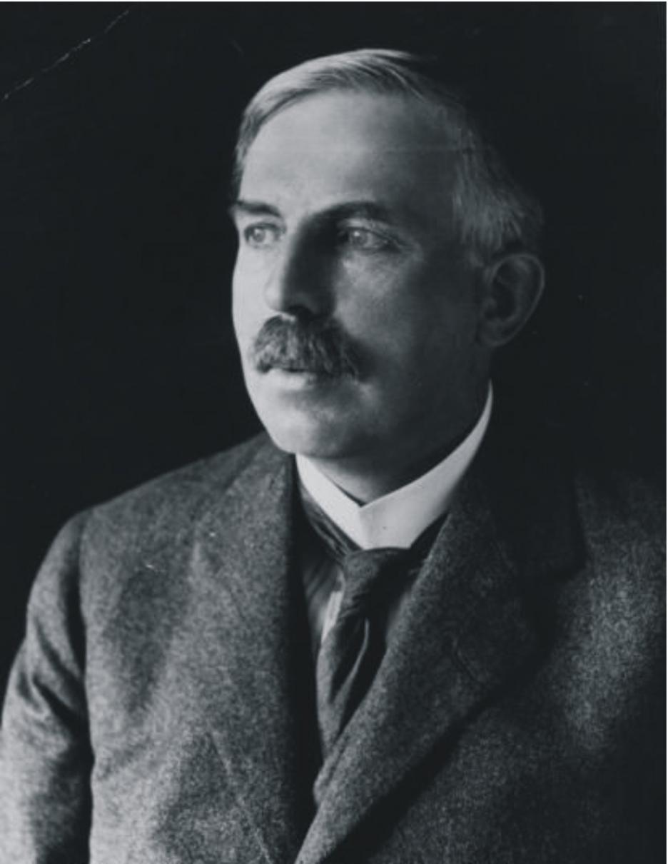 Ernest Rutherford (30 Ağustos 1871 - 19 Ekim 1937)