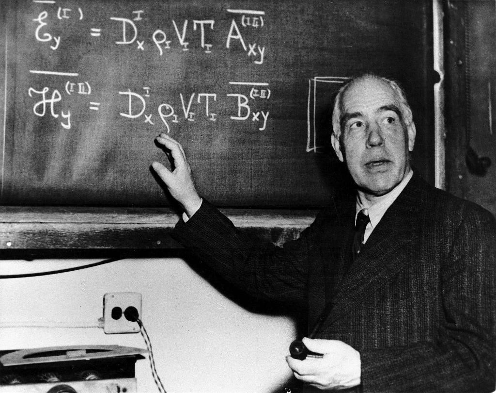 Niels Bohr (7 Ekim 1885 - 18 Kasım 1962)