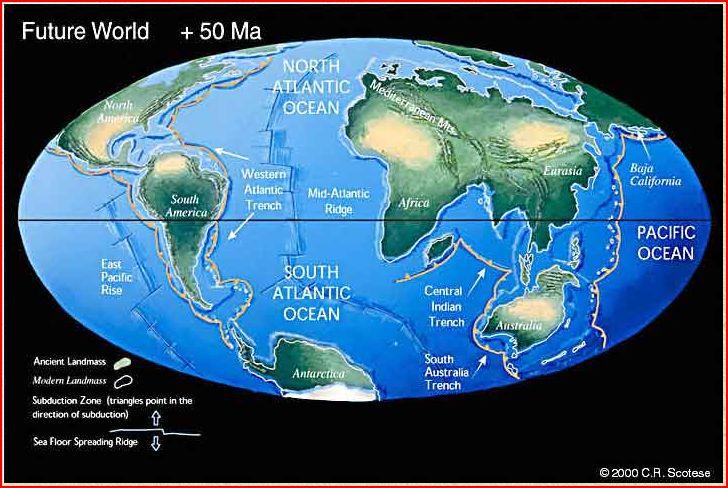 50 milyon yıl sonra Dünya...