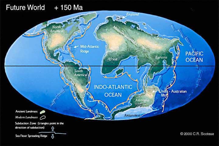 150 milyon yıl sonra Dünya
