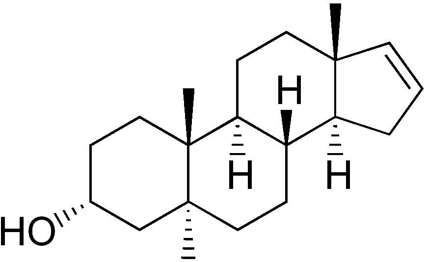 Androstenol molekülü... Tıpkı diğer moleküller gibi, sıradan bir kimyasaldır.