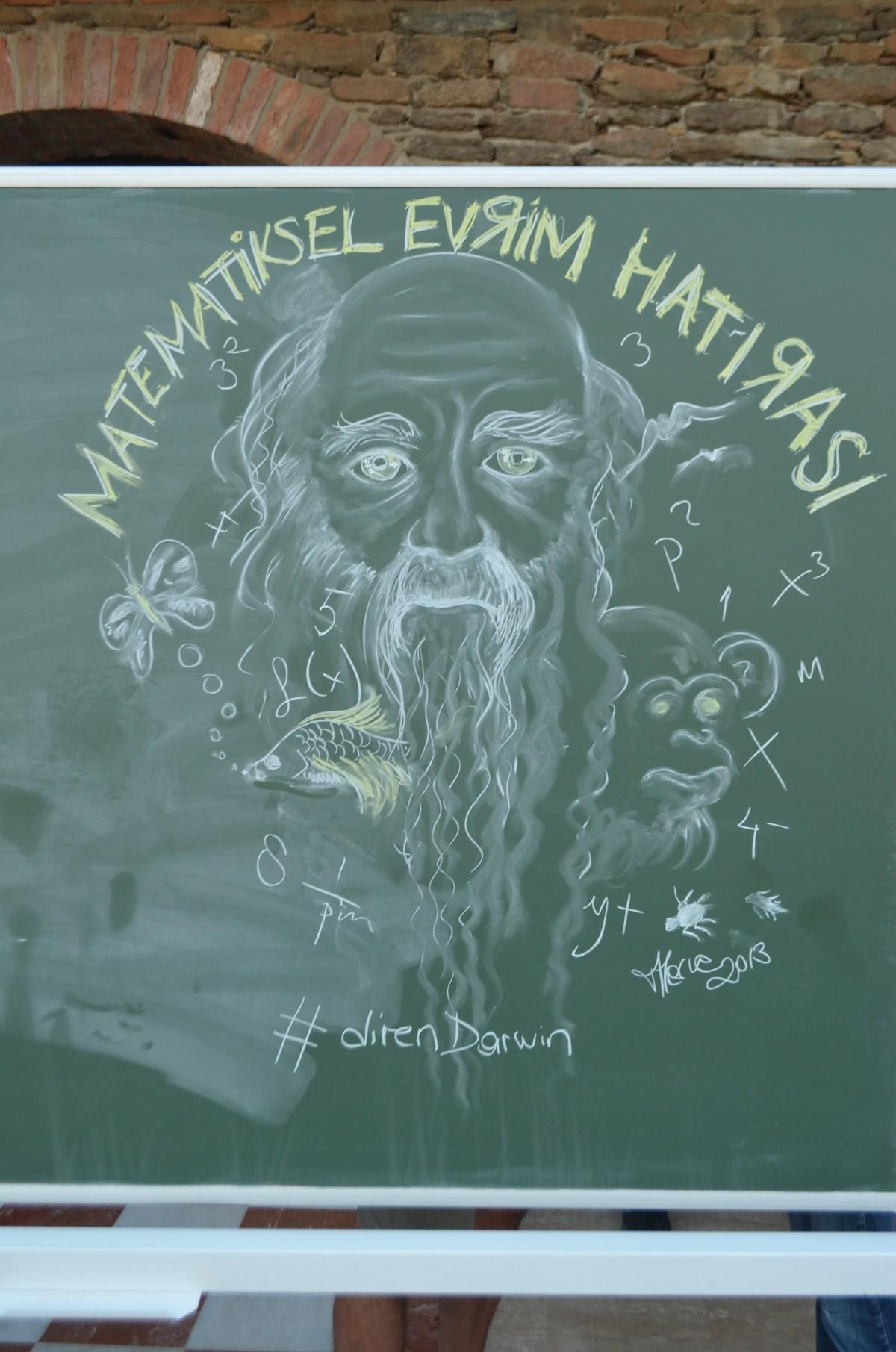9-15 Eylül 2013'te Şirince'de düzenlenen Matematiksel Evrim Yaz Okulu ve Sempozyumu'ndan bir kare...