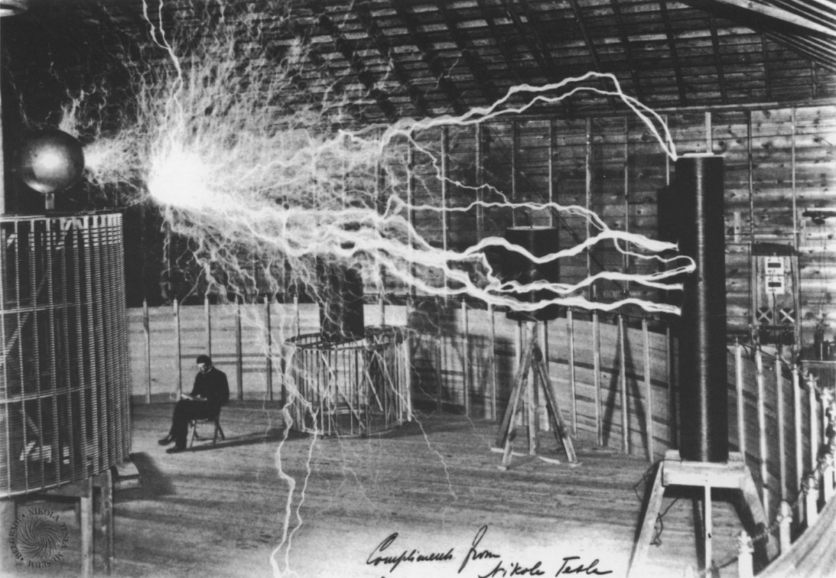 Nikola Tesla...