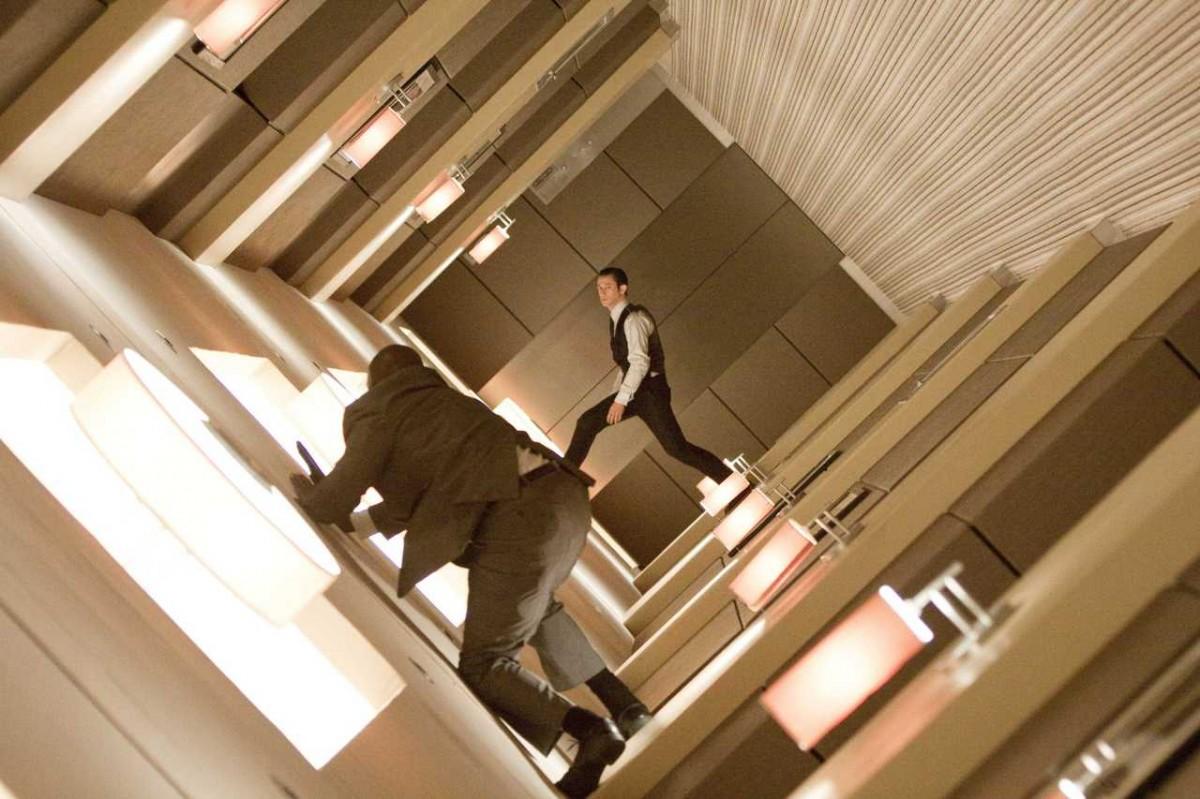 Sonra, Inception filminden alınan bu sahneye bakın.