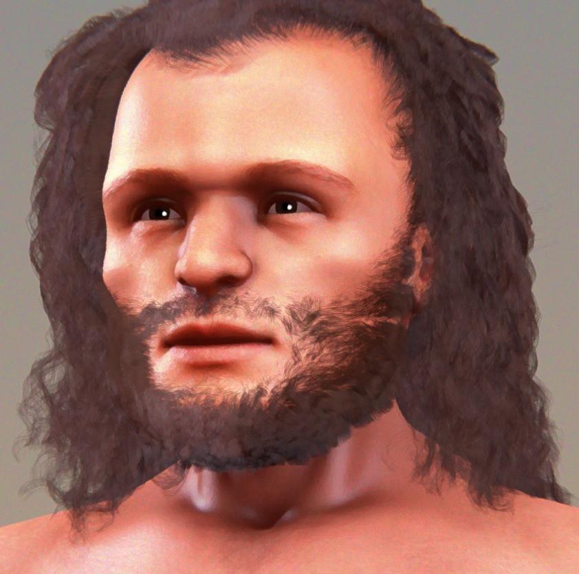 Cro magnon insanlarının muhtemel görünümleri... Bu insanlar da Homo sapiensoldukları için, halen kendimize benzetmemiz çok kolay; ancak artık belli başlı fiziksel görünüm farklılıkları doğmaya başladığı görülüyor. Bu canlılar, Homo sapienstürünün evrimsel geçişinde yer aldığı düşünülen bireylerdir.