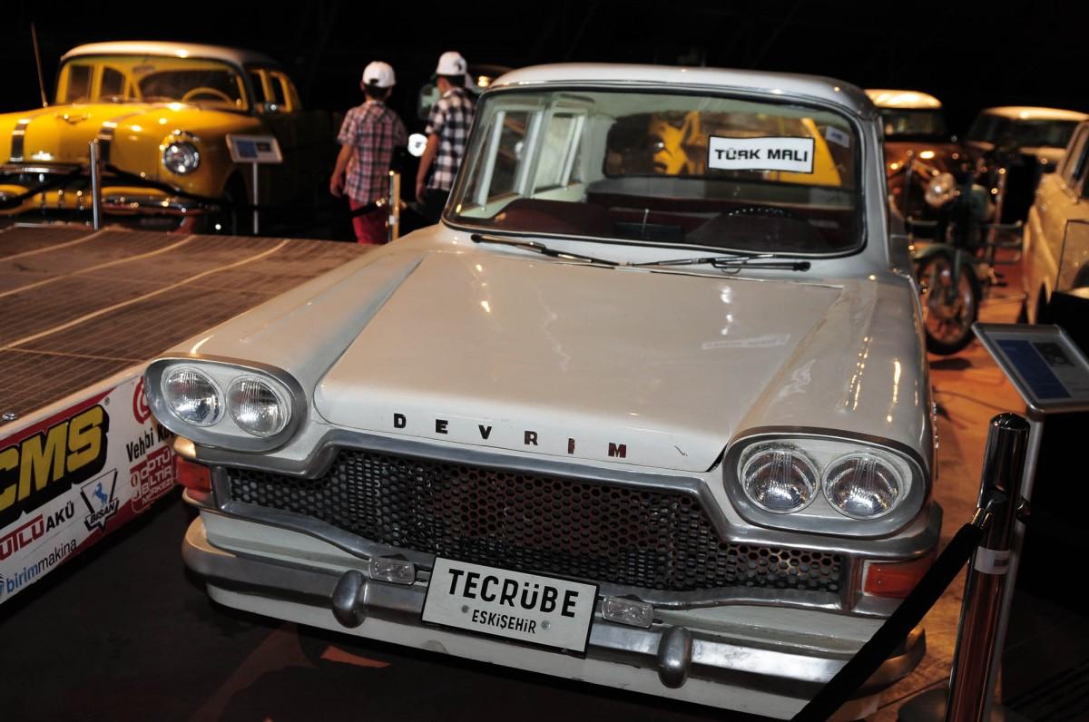 Devrim Arabaları: ODTÜ Müzesi'nde duran ilk yerli üretim otomobil