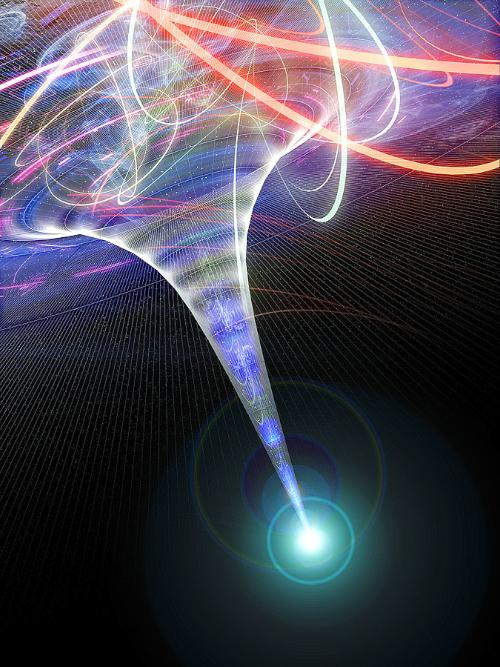 Kütleçekimsel kuvvetler çok güçlü olduğundan Einstein'ın genel görelilik fikrinin çalışmadığı uzayzamanda bir noktadır, tekillik. Kuramsal fizikçiler, bu durumun bir kara delik oluştuğunda ortaya çıktığına ve evrenimizin yaratılışında da gerçekleştiğine inanmaktadırlar. Halbuki Hawking'in Evrenin Sınırsız Olduğuna Dair Tasarısı dünyanın tekillikte başlamadığını ileri sürer.