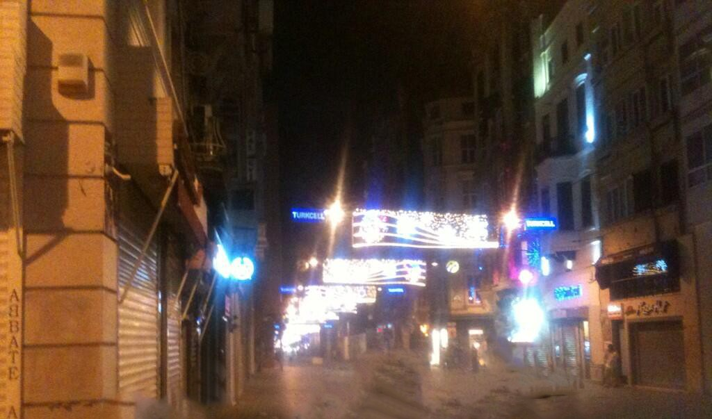 İstiklal Caddesi...
