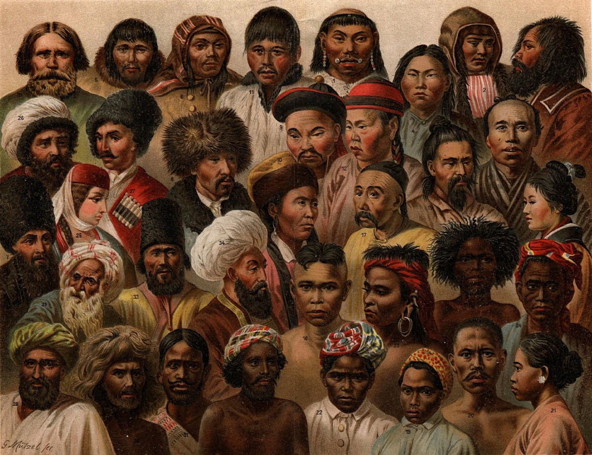İnsanda genel çeşitliliğe dair bir çizim