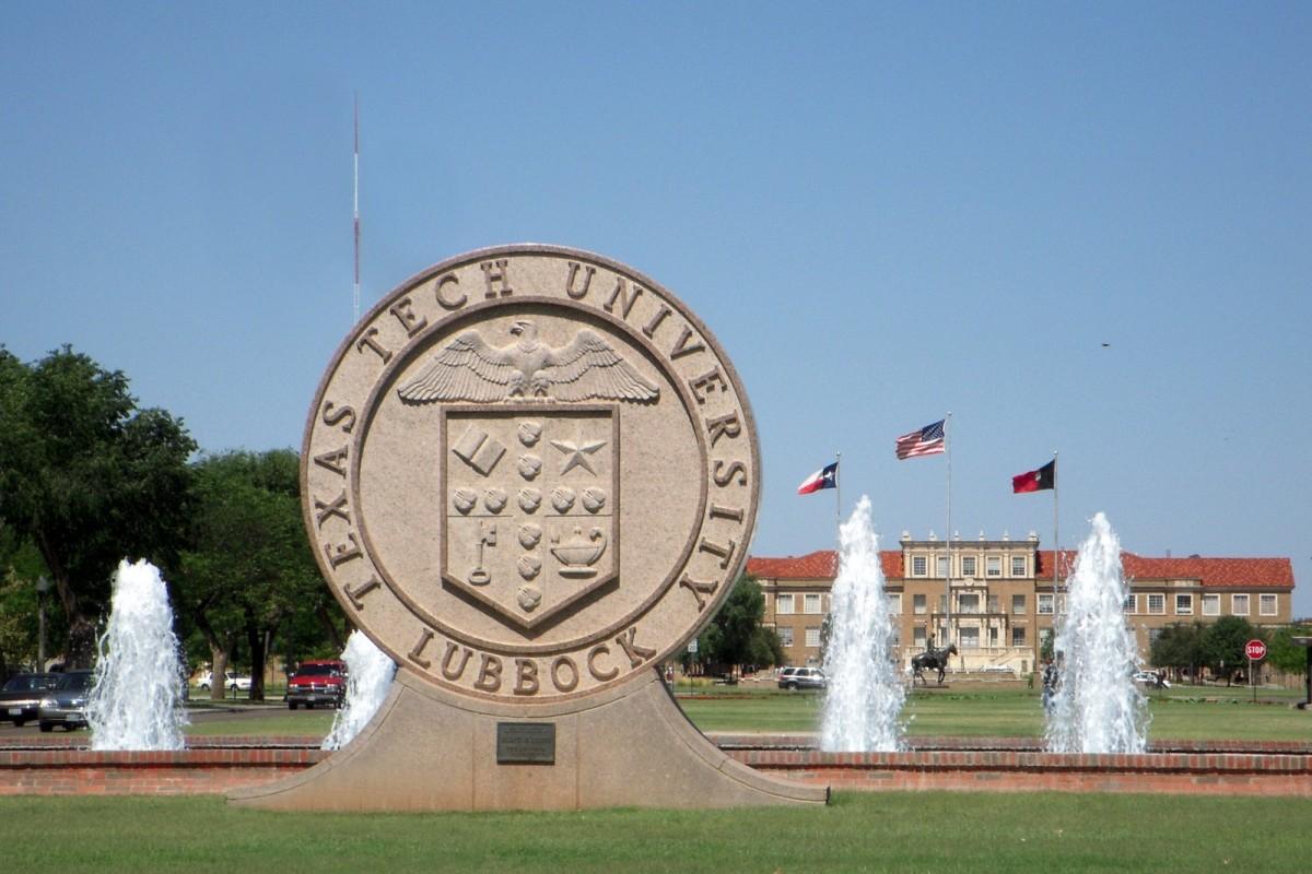 Texas Tech Üniversitesi Ana Girişi