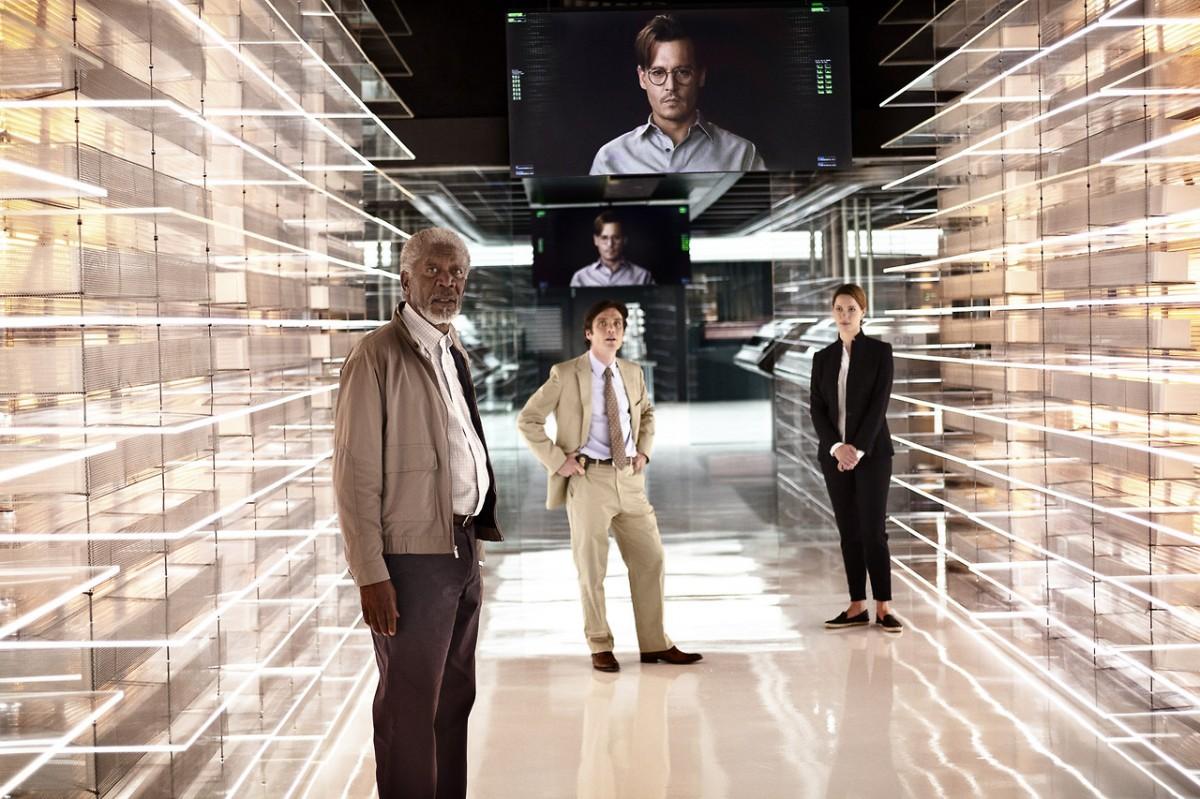 Filmdeki yapay zekaya işlem gücünü veren kuantum bilgisayarlar... On binlerce kuantum çip bir araya gelerek işlem gücünü sağlamaktadır.