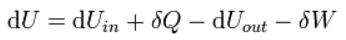 Kapalı sistemler için Termodinamiğin Birinci Yasası...