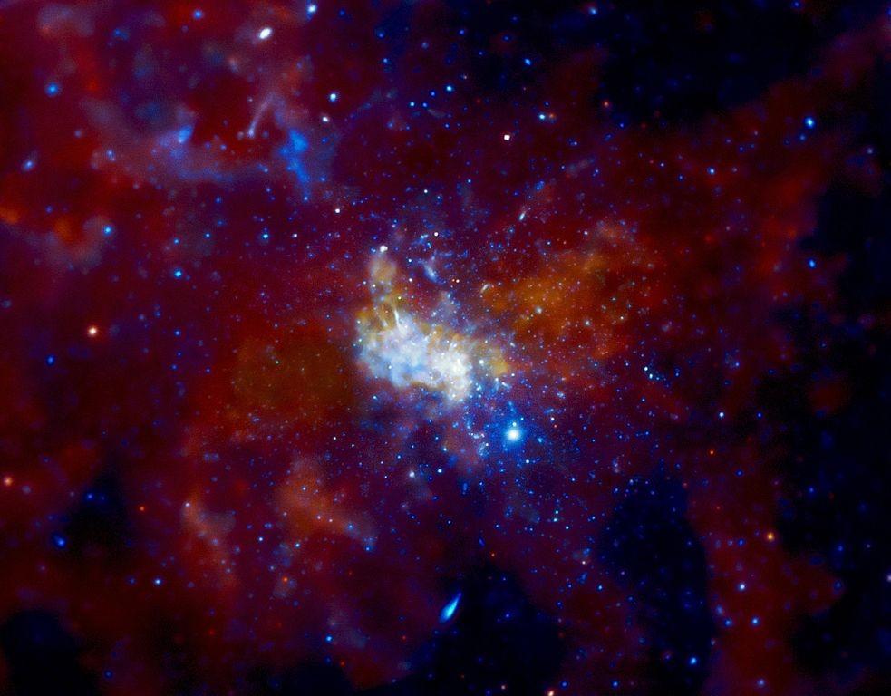 Galaksimizin kalbindeki devasa kütleli karadulvari canavar: Sagittarius A