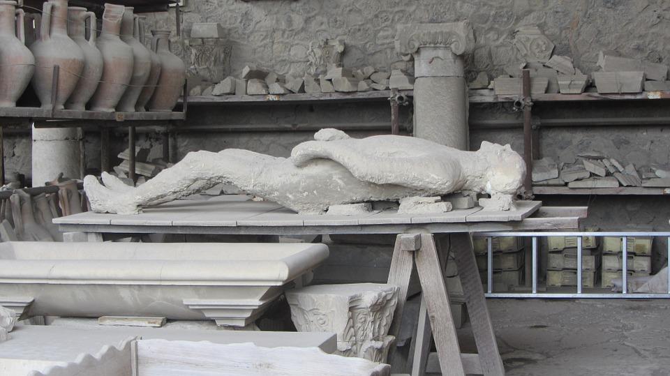 Görsel 1: Pompeii'den çekilen bir görüntü