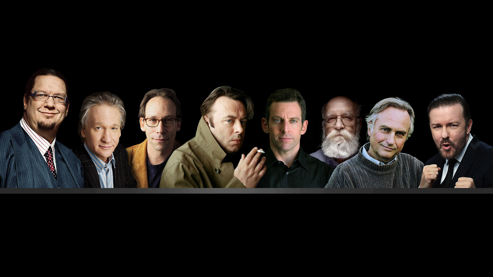 Yeni Ateizm akımının temsilcileri...