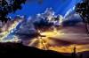 Bulutlardan Sızan Güneş Işınlarının Saçılması, Düz Dünya'nın Kanıtı Mıdır?