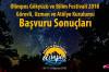 2018 Olimpos Gökyüzü ve Bilim Festivali Görevlileri ve Atölyeler Belirlendi!