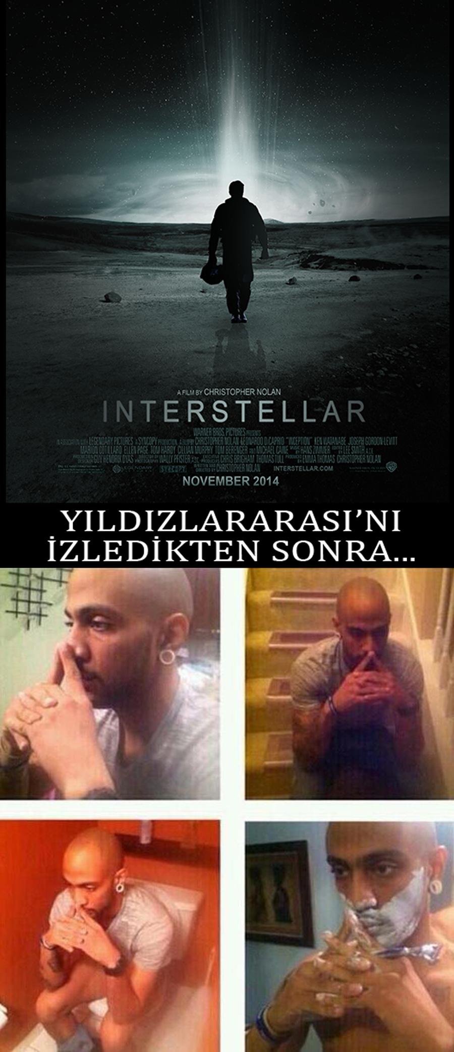 Interstellar'dan Önce ve Sonra...