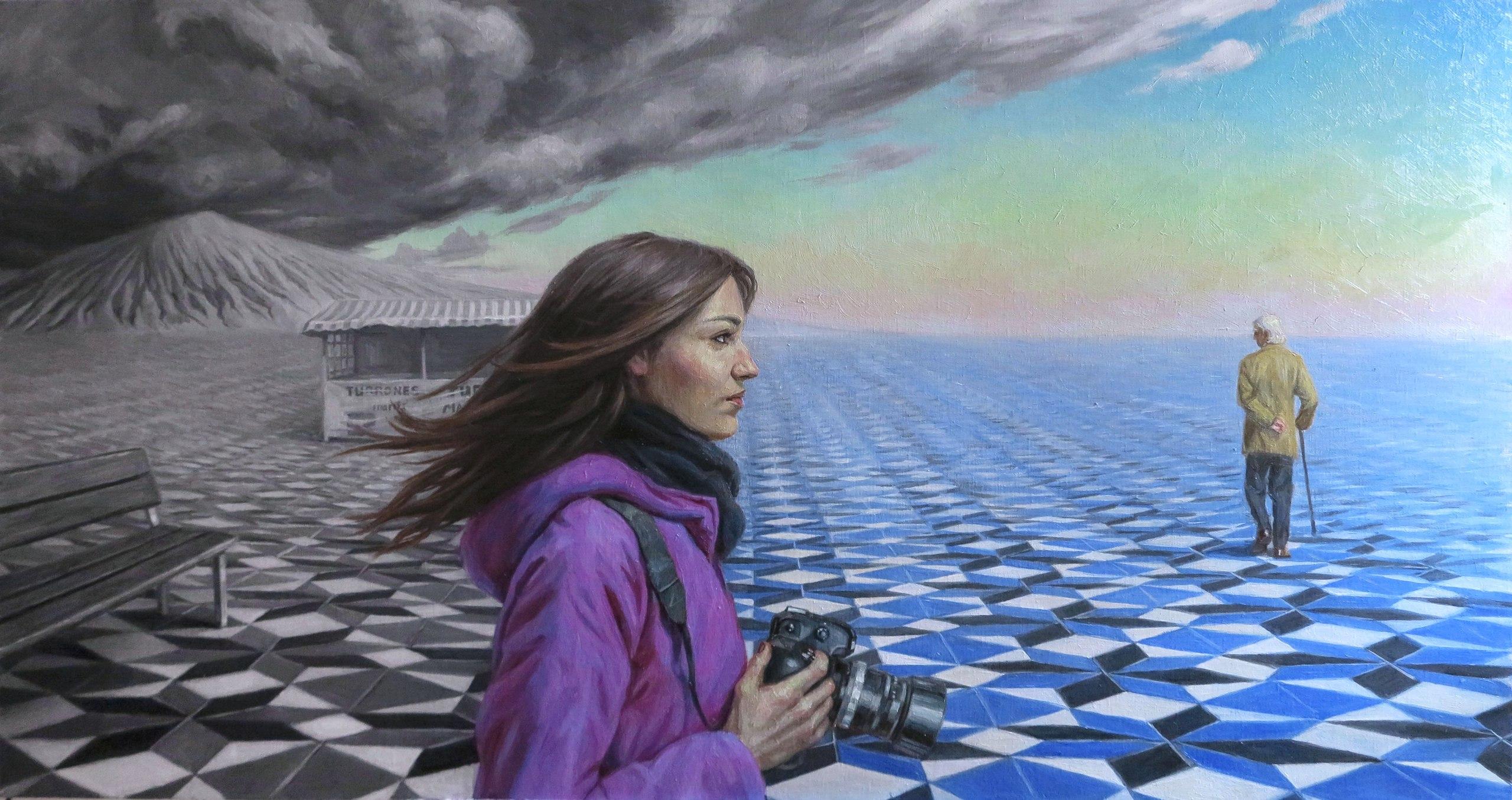 Sasha Sokolova tarafından resmedilmiş olan Egoizm adlı tablo