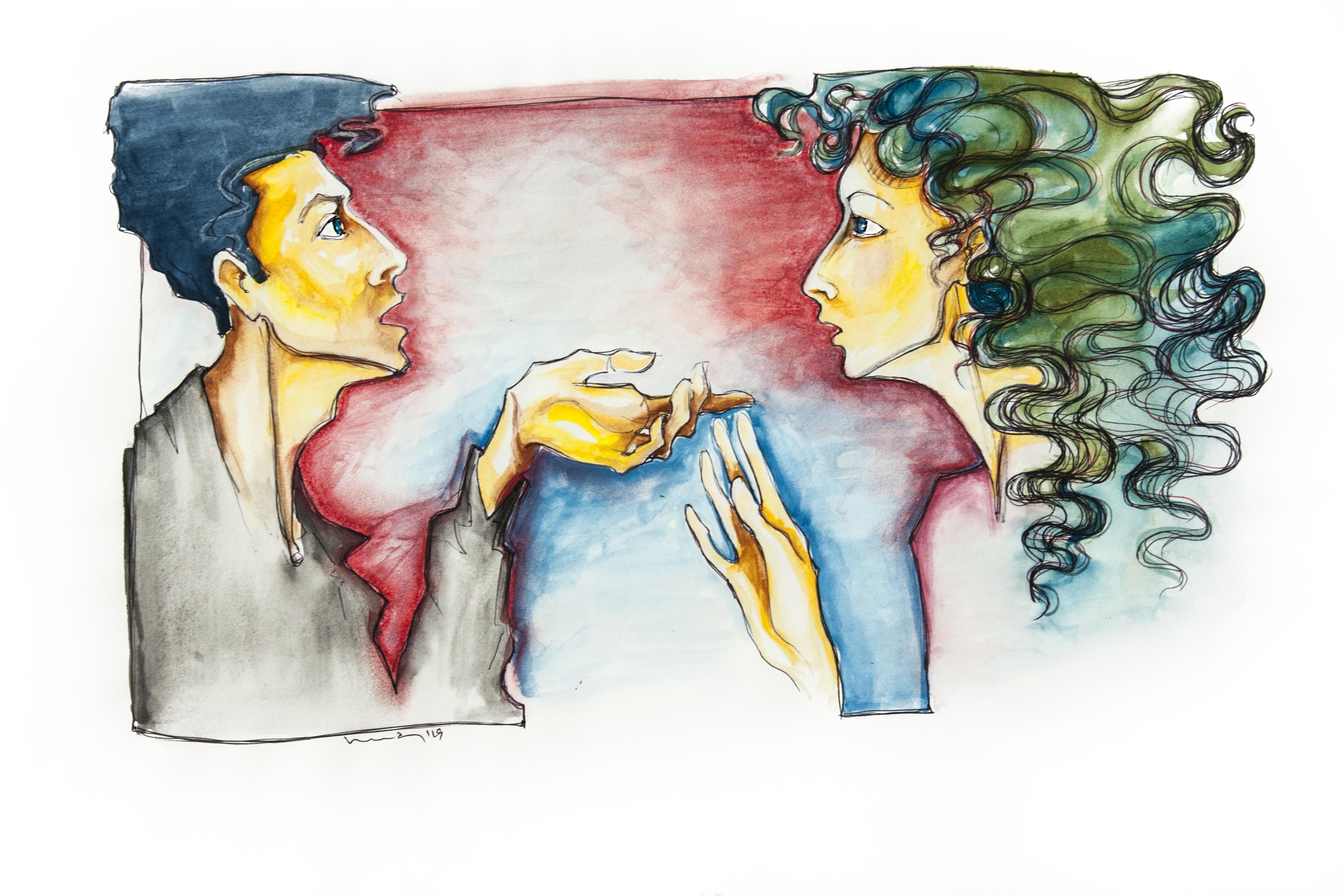 Kadınların ve erkeklerin konuşma içeriklerinde anlamlı farklılıklar bulunmuştur.