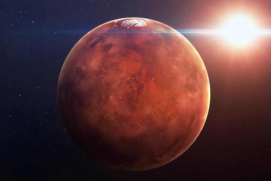 Mars (Kızıl Gezegen)