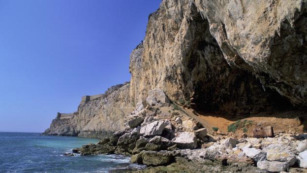 Cebelitarık'taki Gorham Mağarası, bir zamanlar Neanderthallere ev sahipliği yapıyordu.