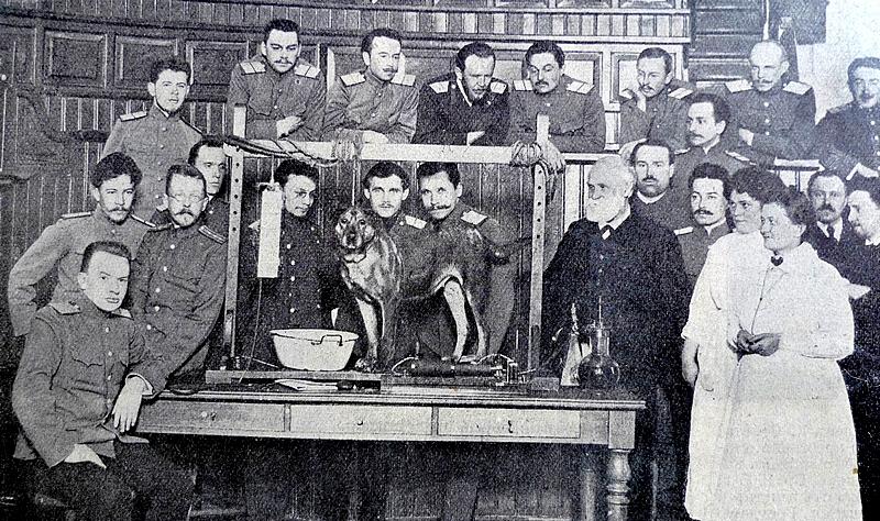 Pavlov'un Saint Petersburg'daki Laboratuvarı