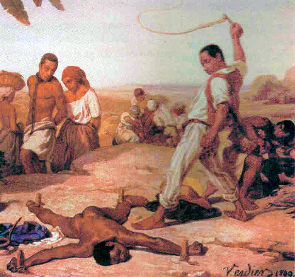 Yetişkinlerin birbirine uyguladığı kölelik gibi kavramlar, insanlar arası kötülüğe bir örnektir.