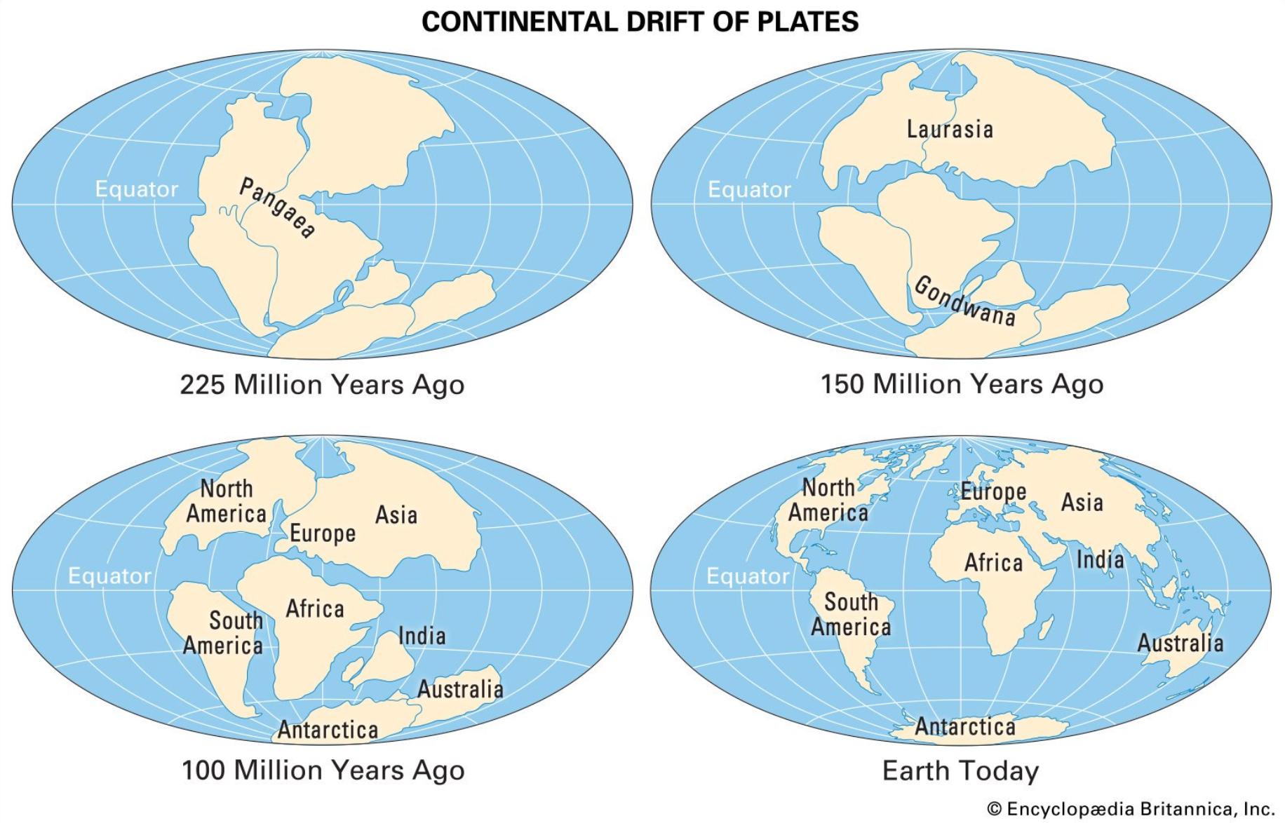 Levha tektoniği ve kıtaların jeomorfolojik evrimi.