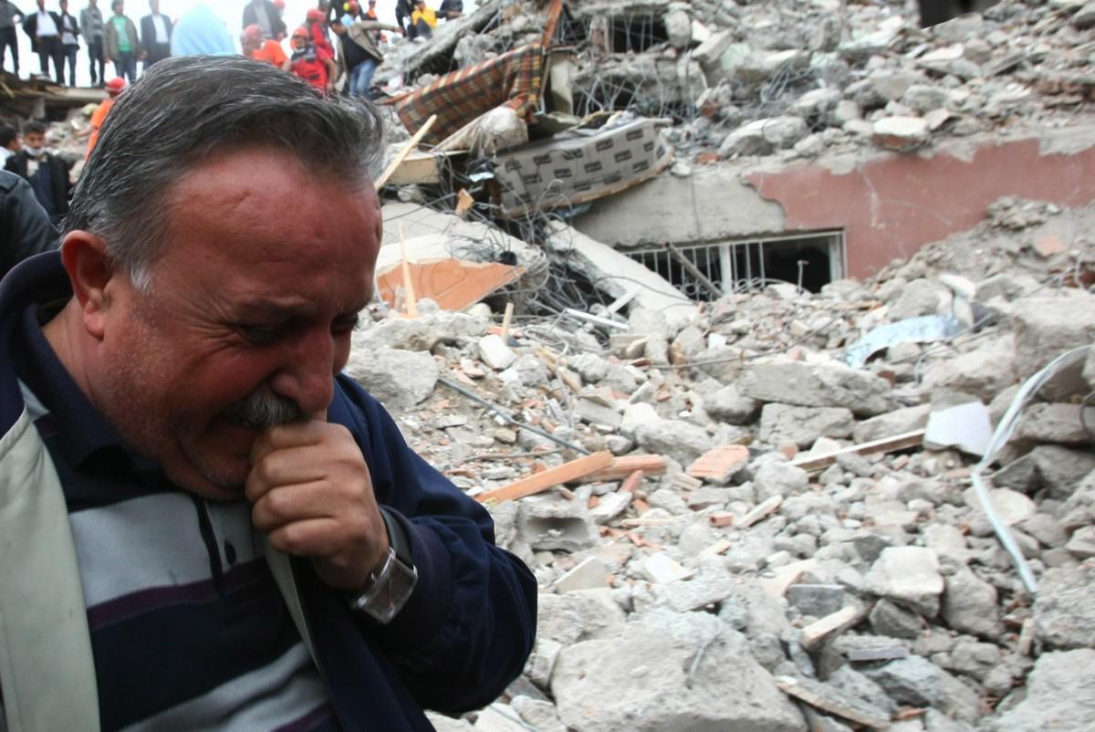 Van depreminden bir kare...