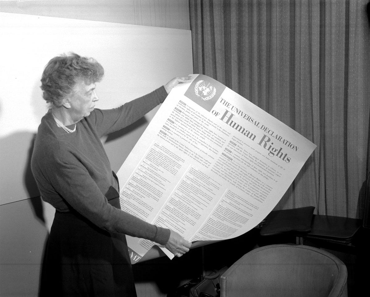 10 Aralık 1948'de Birleşmiş Milletler Genel Kurulunca kabul edilen İnsan Hakları Evrensel Beyannamesi