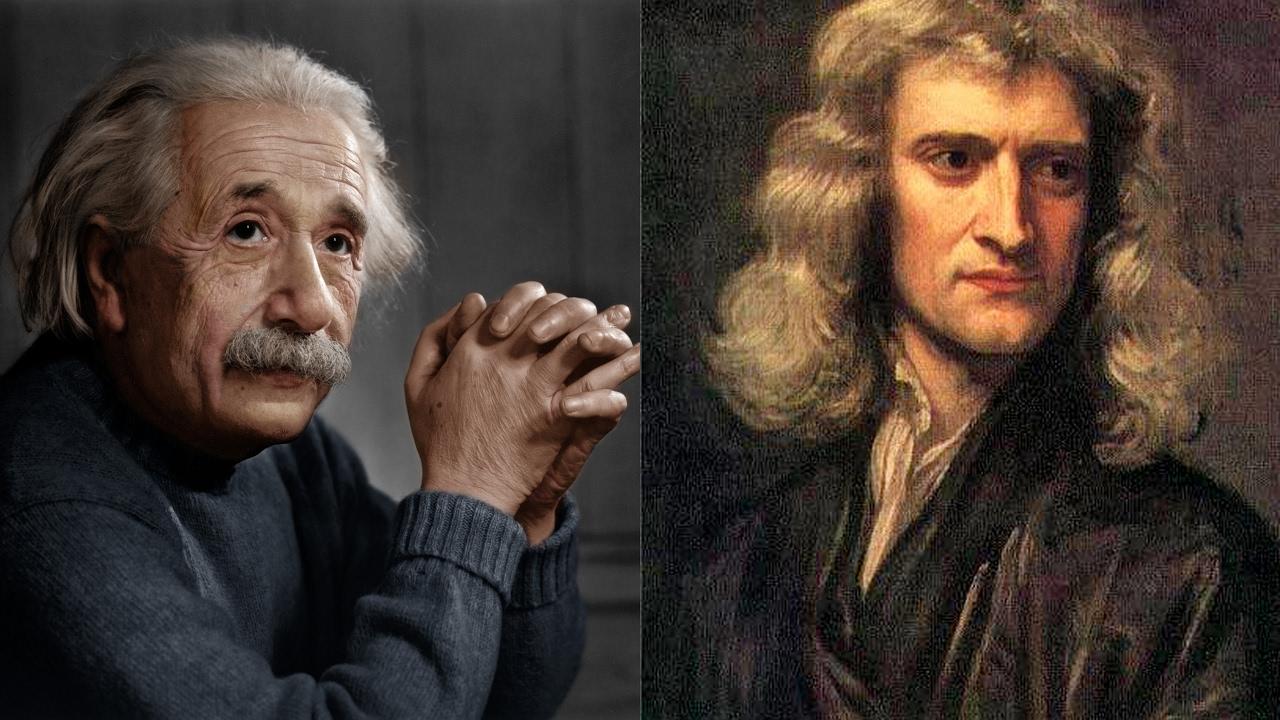 Aynı Kaderi Paylaşan Einstein ve Newton