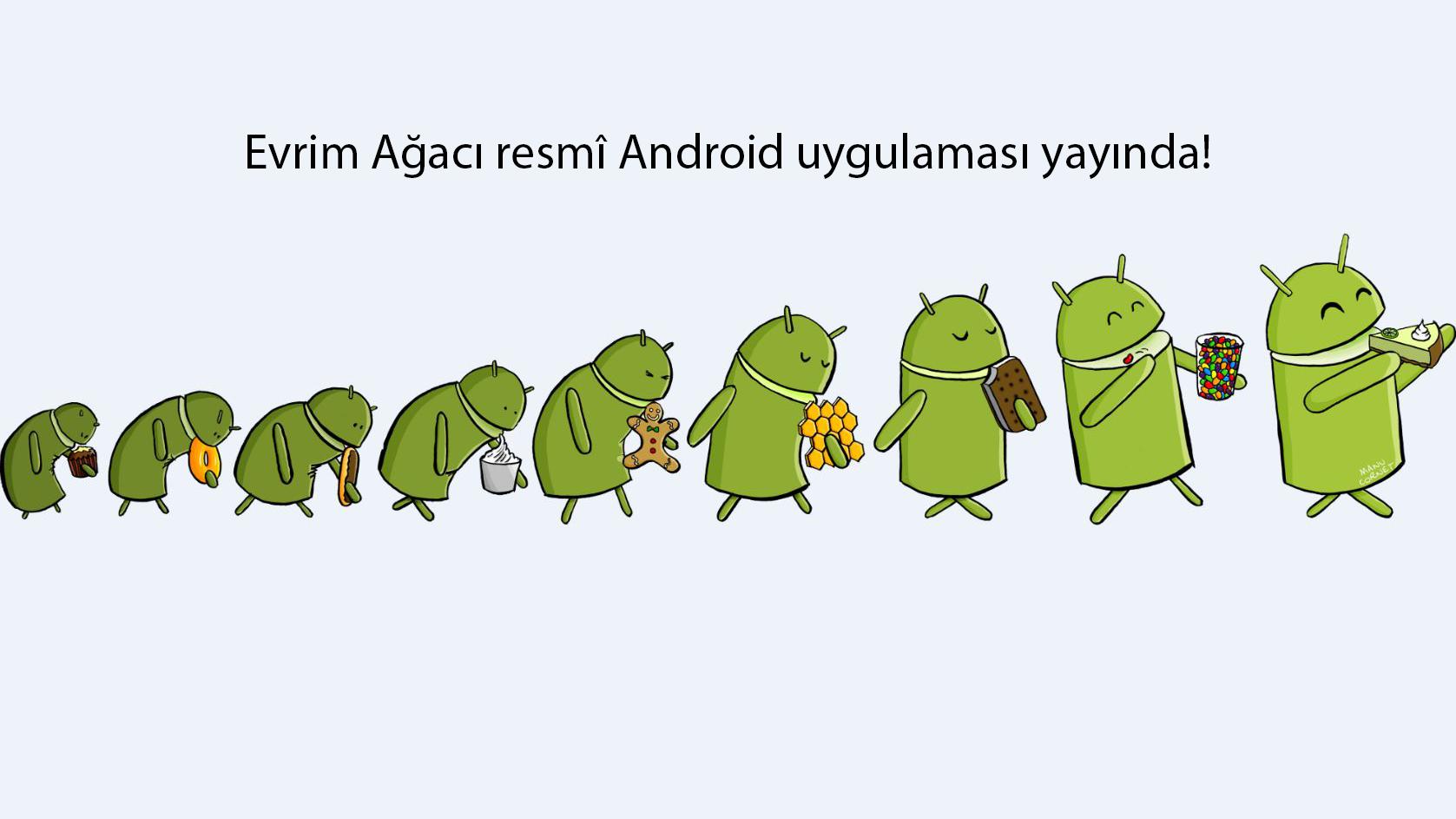 Android uygulamamız yayında!