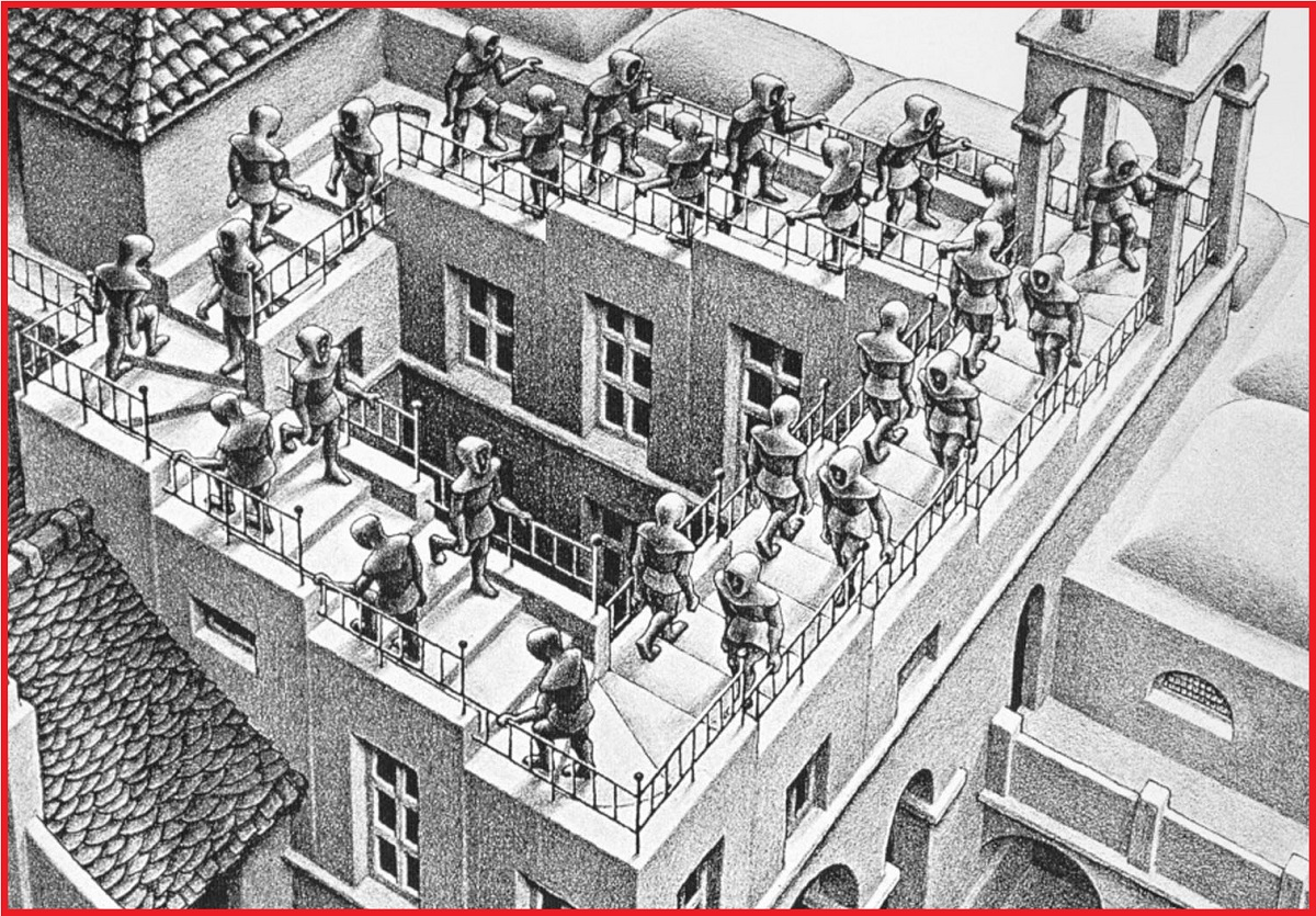 Escher: Ascending and Descending