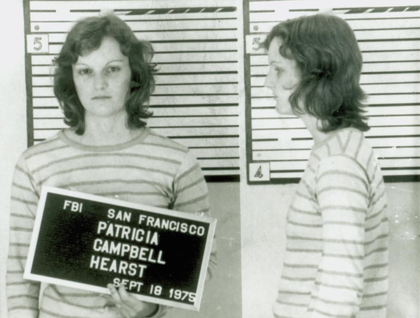Patty Hearst, FBI tarafından tutuklandığında