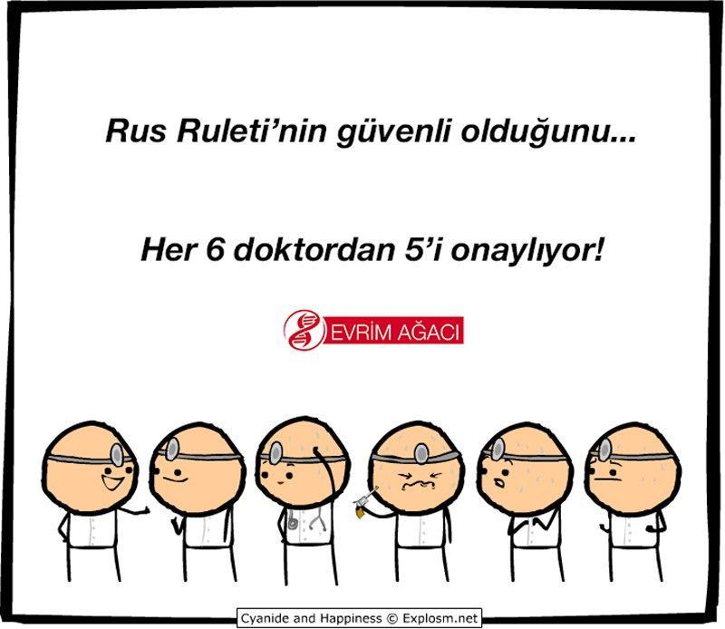 Doktorlar ve Rus Ruleti...