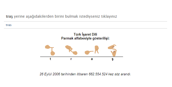 TDK Genel Türkçe Sözlük'te