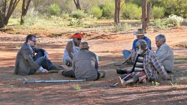 Eske Willerslev ile Avustralyalı Aborijinler.