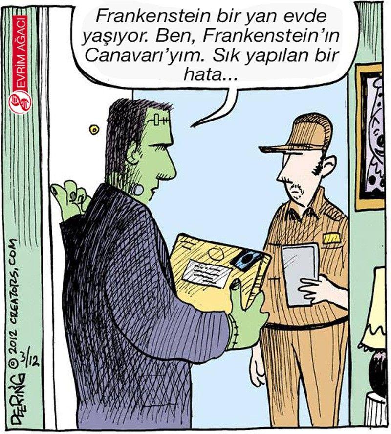 Birçoklarının sandığının aksine Frankenstein, bilim insanının yarattığı yaratığın adı değil, bilim insanının kendisinin adıdır.