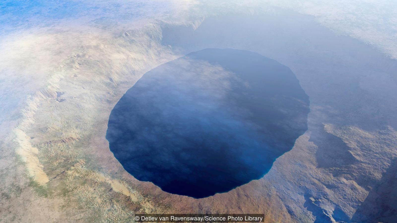 Bir göktaşı krateri, yaşamın başladığı yer olabilir.