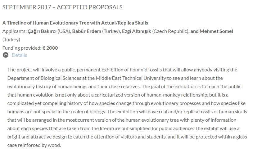 ESEB 2017 Accepted Proposals